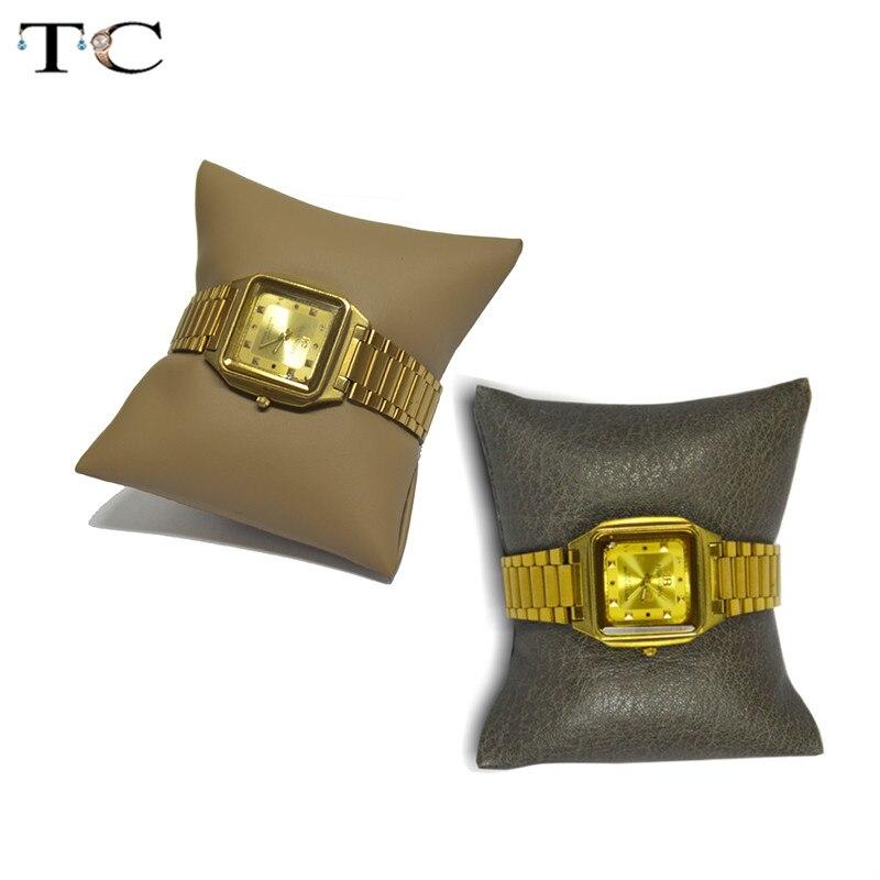 Leather Bracelet Display Cushion Pillow Jewellery Box Pillow Watch Cushion Bracelet Storage Protect Organizer