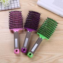 Hair-Brush Massage-Comb Detangle Nylon Girls Women Wet for Salon Hairdressing-Styling-Tools