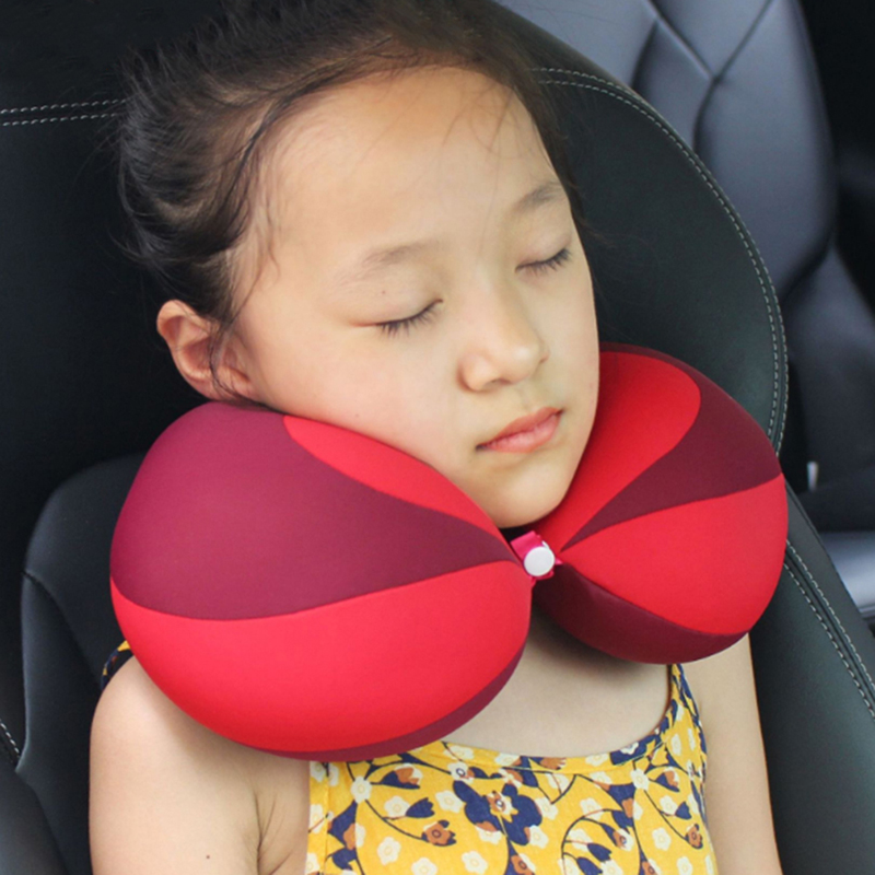 Pillow Kids Newbron Travel Neck Pillow U Shape For Car Headrest Air Cushion Child Car Seat