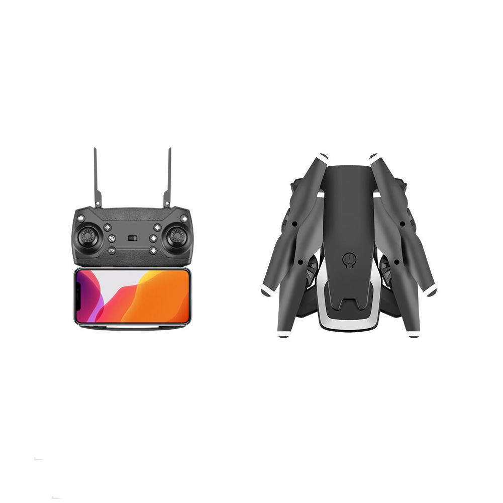 One Key Return Dual Cameras WIFI Face Recognition APP Control Outdoor HD 4K Foldable Drone RC Quadcopter Portable Headless Mode