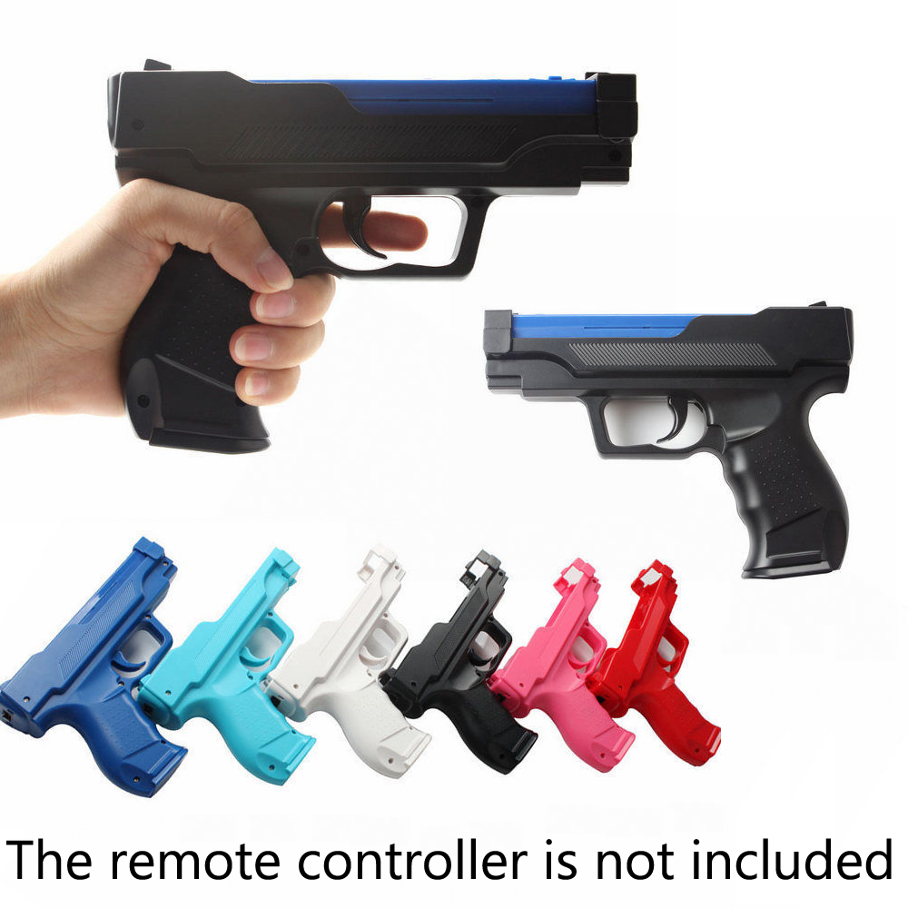 Light Gun Pistol Handle Shooting Sport Video Game For Wii Remote Controller Vibration Pistol For W-i-i Game Handle