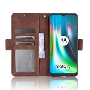 Image 5 - ل موتورولا موتو E7 زائد 2020 الوجه حالة بطاقة فتحة جلدية للإزالة الهاتف حامل ل موتورولا E7 زائد حالة E 7 E7Plus XT2081 1