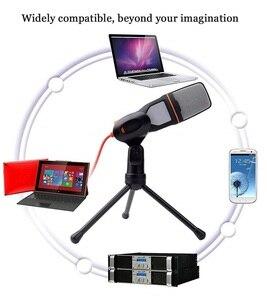 Image 4 - Profesjonalny mikrofon pojemnościowy zestaw mikrofon do komputera podręczny megafon tanie lapel mikrofonów perkusyjnych rejestrator komputer stancjonarny