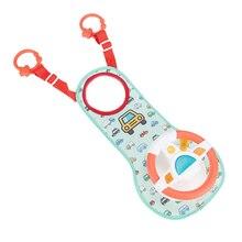 1 Pcs Infant Car Rad Spielzeug Baby Auto Sitz Spielzeug Frühe Pädagogische Simulation Lenkrad für Vorne Baby