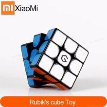 Original Xiaomi Mijia Giiker M3 Cube magnétique 3x3x3 couleur vive carré Cube magique Puzzle Science éducation travail avec lapplication giiker
