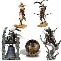 28cm Creed Origins Bayek Aya Altair The Legendary Conner Eden Apple of Eden PVC Action Figure Model Toys Doll For Gift