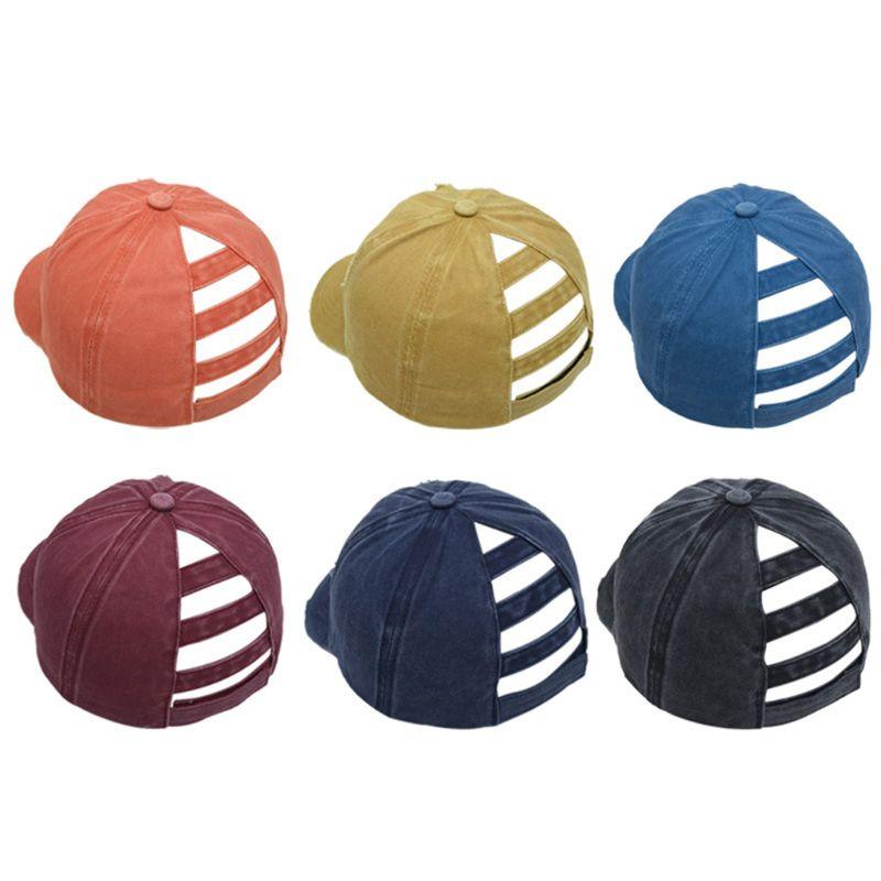 protecci/ón UV gorra de b/éisbol vintage gorra de algod/ón 2019 gorra de caballo sombrero ajustable LEEDY Gorra de b/éisbol para mujer con aspecto desgastado