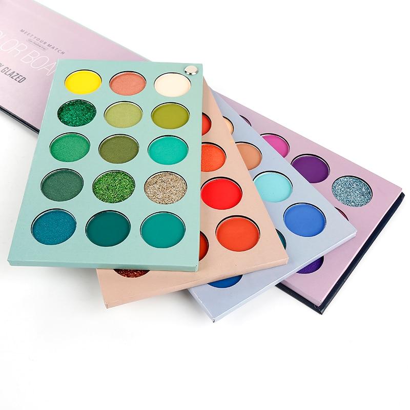 Beauty Glazed 60 Colors Eyeshadow Pallete Eyeshadow The Shadows Palette Of Shadows Paleta De Sombra Makeup Pallete Eye Shadow