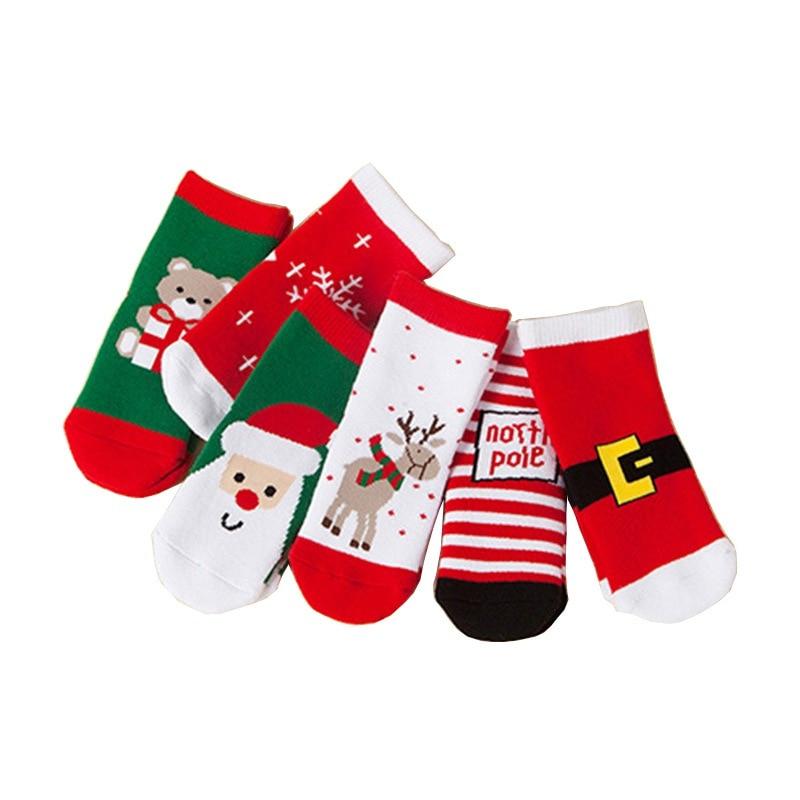 Cartoon Children Socks Animal  Christmas Baby Cotton Socks  Warmers Cute Socks Boy Girl Socks