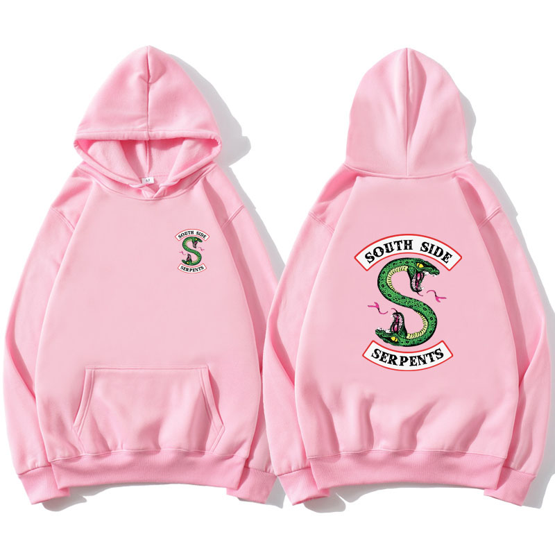 2019 Hot Sale Men Casual Trendy Streetwear Hoodies Fashion Printed Snake Hoodies Women/Men Long Sleeve Hooded Sweatshirts
