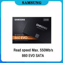 Samsung внутренний SSD 860 EVO 2 ТБ 120 ГБ 250 500 1 ТБ твердотельный накопитель HD Жесткий диск SATA Высокая Скорость для портативных ПК
