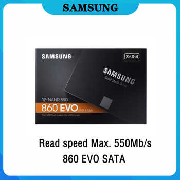 Samsung Internal SSD 860 EVO 2TB 120GB 250GB 500GB 1TB Solid State HD Hard Drive SATA High Speed for PC Laptop free shipping - DISCOUNT ITEM  21% OFF Computer & Office