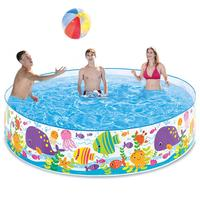 Hard Plastic Portable Pool Child Swimming Inflatable Pool Foldable Home Swimming Accessories Pool For Escaping The Hot Summer