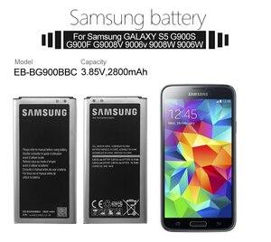 Image 5 - מקורי Samsung סוללה EB BG900BBU EB BG900BBC 2800mAh עבור Samsung S5 G900S G900F G900M G9008V 9006V 9008W 9006W g900FD NFC