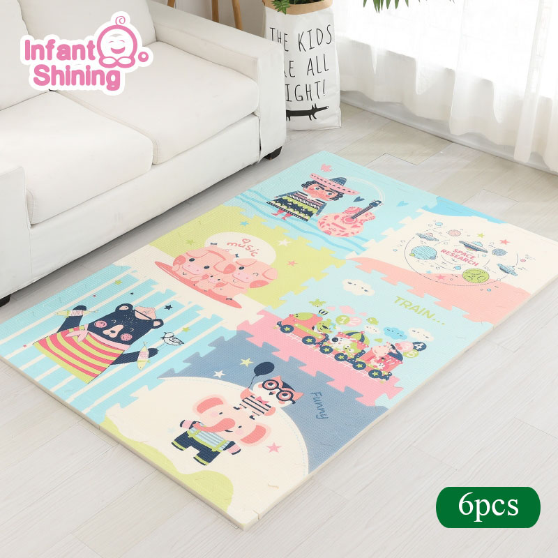 Infant Shining Baby Play Mat Xpe 2cm