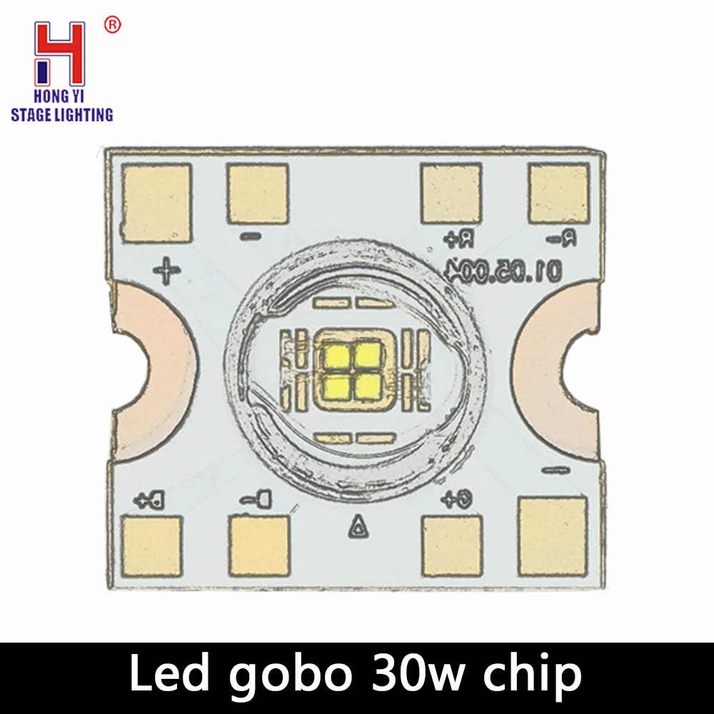 Led 30W Chip Led Spot Moving Head Licht 30W DMX Dj Gobos Wirkung Bühne Lichter Bar Disco Chip