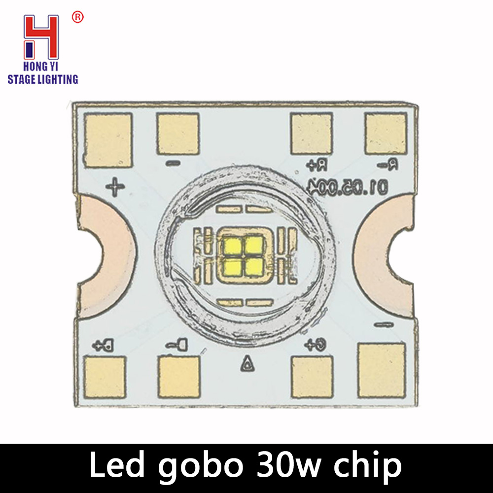 Led 30W Chip Led Spot Moving Head Light 30W DMX Dj Gobos Effect Stage Lights Bar Disco Chip