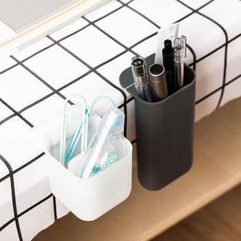 Trwałe biurko długopis linijka pojemnik na ołówki kubek Organizer siatkowy pojemnik nowy długopis uchwyt Organizer na biurko biurko długopis tanie i dobre opinie Biurko zestawy