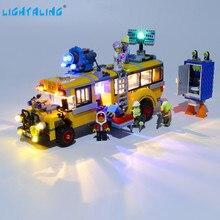 Lightaling Светодиодные Комплект Для Паранормальных Перехватить Автобус 3000 Игрушки Строительные Блоки, Совместимые С 70423 ( Комплект Освещения Только )