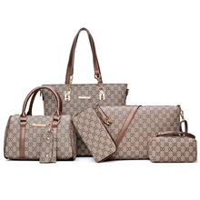 2017 New Style Europe And America Style Women's Printed Different Size Bags Six
