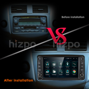 Image 4 - 1G Ram Android Rds Multimedia Car Dvd speler Gps Voor Toyota Universele RAV4 Corolla Vios Terios Land Cruiser 100 yaris Bt Swc Ect