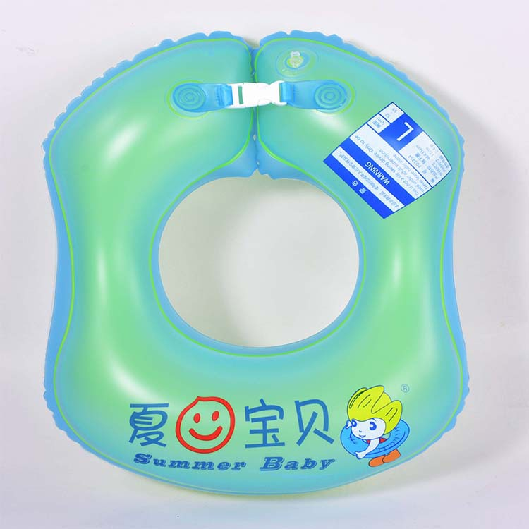 Manufacturers Wholesale Environmentally Friendly PVC Inflatable Armpits Ring Children Armpits Ring Swimming Safe Handle Inflatab