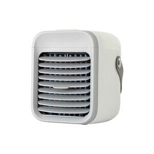 USB Портативный кондиционер воздушный охладитель, увлажнитель очиститель 7 цветов светодиодный светильник Вентилятор охлаждения