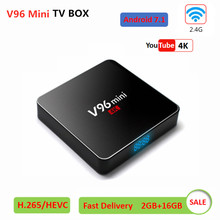 Vmade Android 7.1 OS TV Box V96 MINI Allwinner H3 4K Smart TV Box 2.4G WIFI 2GB 16GB Google Media Player Android Set Top Box