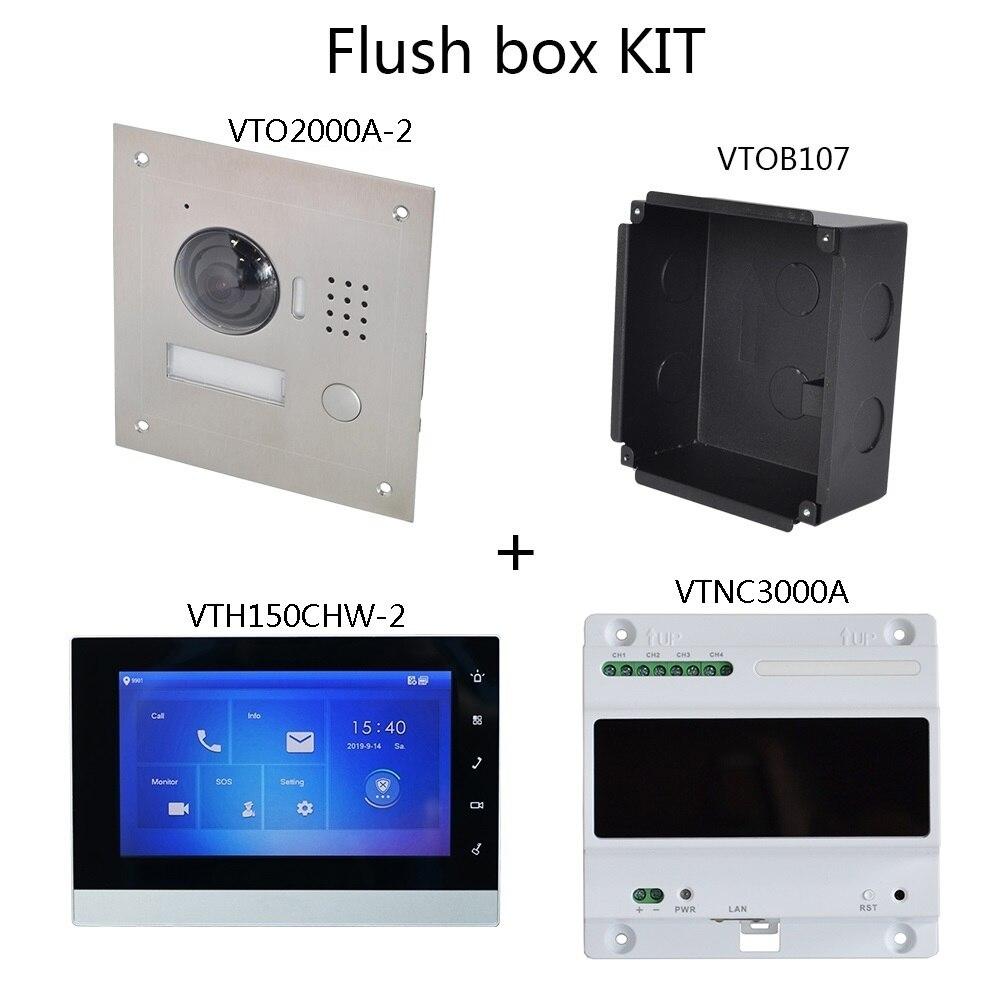 Image 4 - DH logo Multi Language 2 Wire IP Video intercom KIT Include doorbell & monitor & power supply,VTO2000A 2 S1 VTH1550CHW 2 S1Video Intercom   -