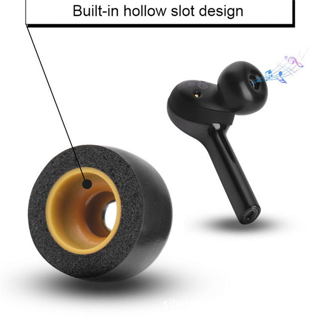 Kulak ipuçları bellek köpük kulaklık kol Jabra Elite 65t Samsung dişli IconX Galaxy kulaklık gürültü azaltma kulaklık