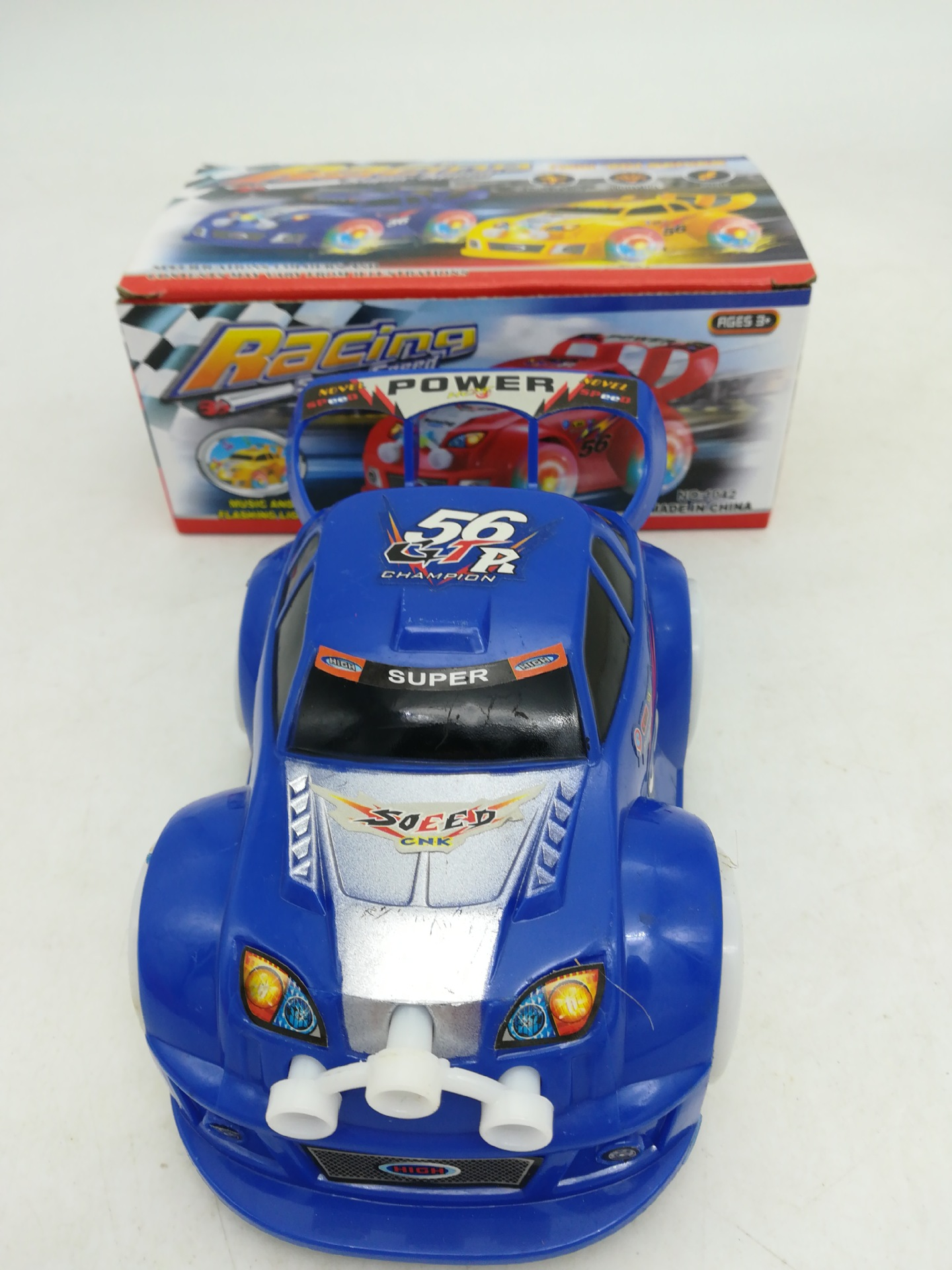 Super Cool Toy Car Little Boy Toy Special Offer Universal Light And Sound Race Car Street Vendor Toy