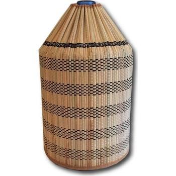 Trwały stylowy pojemnik w kształcie butelki ze słomy bambusowej tanie i dobre opinie CN (pochodzenie)