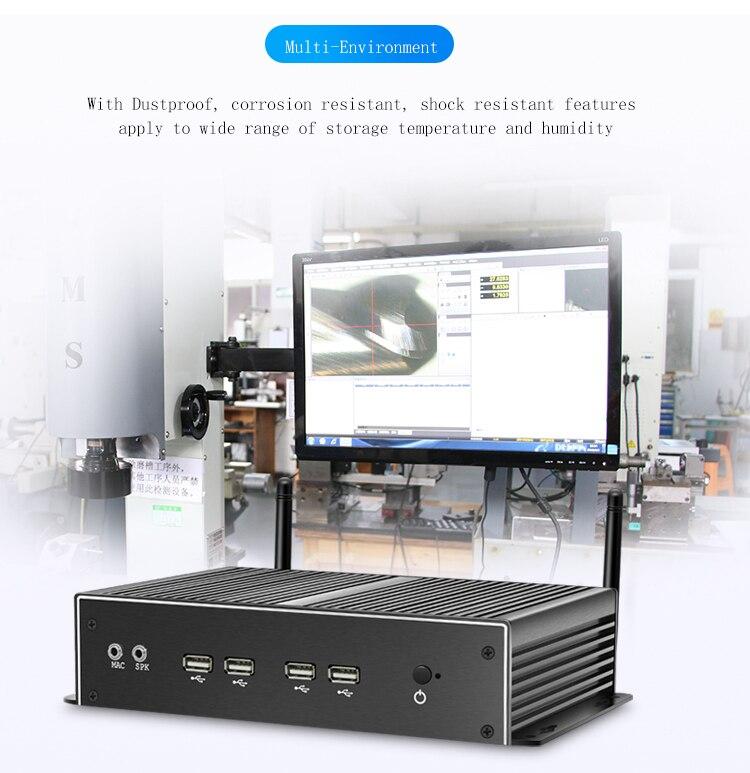 Vga Input Mini Host 2 Lan Port Desktop Portable Home Server Cheap Mini Pc With 4gb Ram