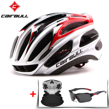 CAIRBULL Road Bike Helmet Ultralight Bicycle Helmets Men Women Mountain Bike Riding Cycling Integrally-molded Helmet 1