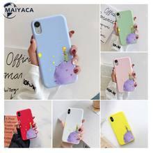 Popolar o pequeno príncipe na hortelã telefone móvel oito cores caso para iphone 7 8 plus capa para x xs max xr 11 pro max
