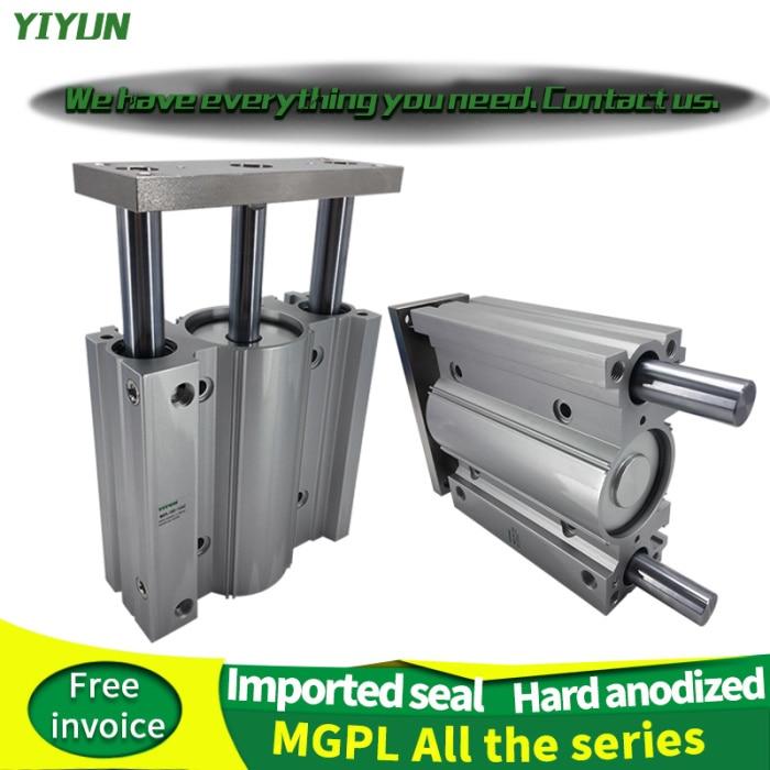 YIYUN типа SMC компактный направляющий цилиндр MGPL50-350Z MGPL50-400Z MGPL50-450Z MGPL50-500Z серия mgpl