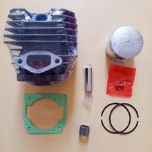 G4500 комплект цилиндров 43 мм W/прокладка ПОДХОДИТ ZENOAH G455 AVS 4500 45CC ZYLINDER поршневое кольцо булавки зажимы в сборе Запчасти для цепной пилы