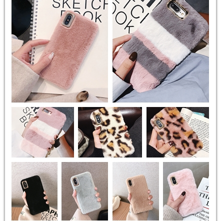 Fur Case for Samsung Galaxy Note 10 Plus Pro 8 9 5 4 3 2 Phone Case Cover for Samsung M10 M20 M30 M40 M30S A40S Luxury Fundas image