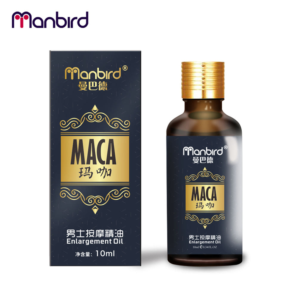 3Pcs Penis Enlargement Developed Sex Delay Essential Oil Dick Growth Thicken Stronger MACA Fast Effective Erection Lube for Men 3