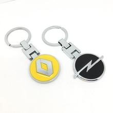 Car-Key-Ring Keychain Emblem Opel Kia Skoda Chevrolet Nissan Audi HONDA Peugeot Renault