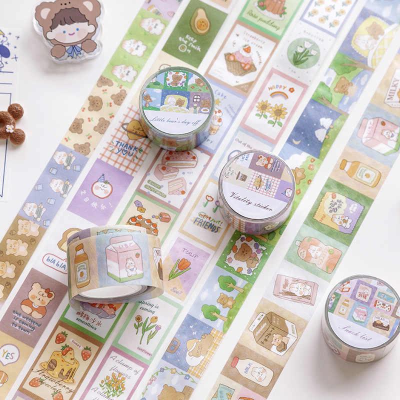 20 Rolls of Washi-Tape Journal Stationary Kit 6 Sticker Sheets Penpal 20 Photo Stickers