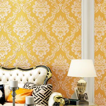 European style wallpaper 3D non-woven wallpaper living room and bedroom TV background wallpaper modern simple relief wallpaper high quality american wallpaper 3d rural non woven european style wallpaper luxury retro tv background home living room bedroom