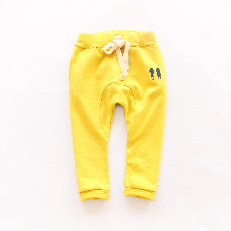 New cotton Boy Trousers Children soid Harem Pants Kids Autumn Spring Clothes for Baby Boys girls Pants size 2-7Y toddlers