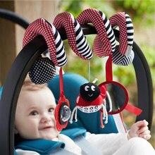 Мягкие детские игрушки 0 12 месяцев, мобильные погремушки для детской кроватки, детская игрушка погремушка с колокольчиком, подарок для детей
