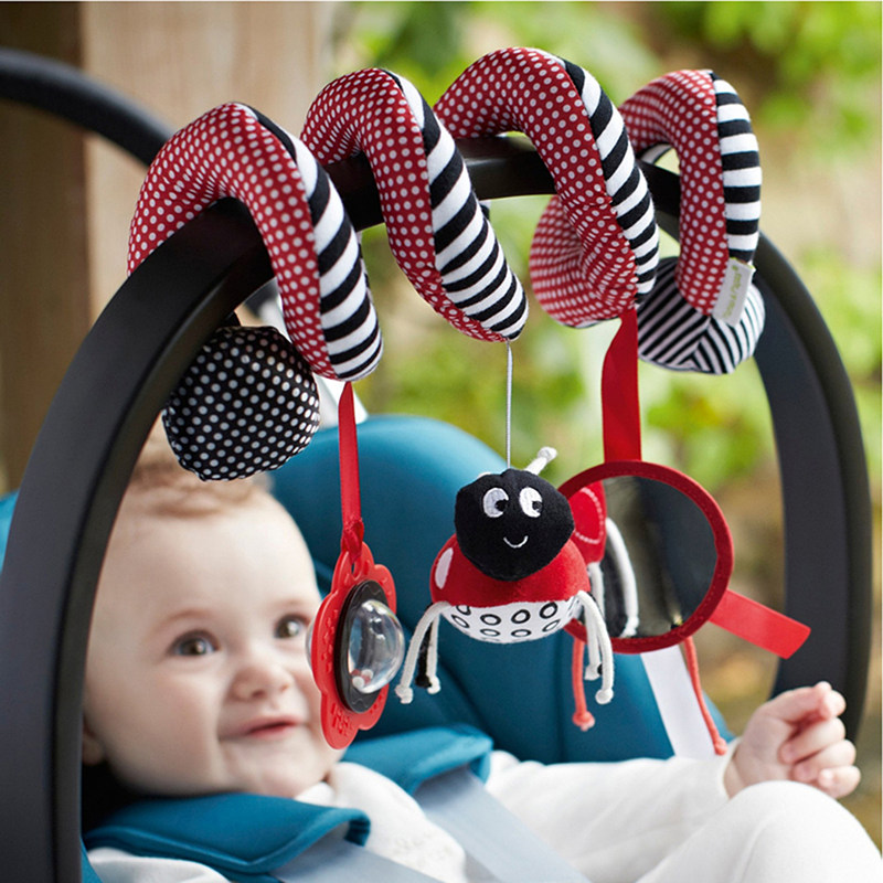 Soft Infant Baby Toys 0-12 Months Toys For Baby Crib Mobiles Rattles Car Seat Hanging Bell Rattle Toy Gifts For Kids
