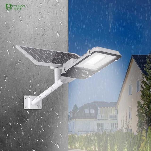 BEYLSION LED Solar Street Light Solar Light Outdoors Solar Street Lights Solar Lamps  Outdoor Lamps 50W 100W + Remote Controller 1
