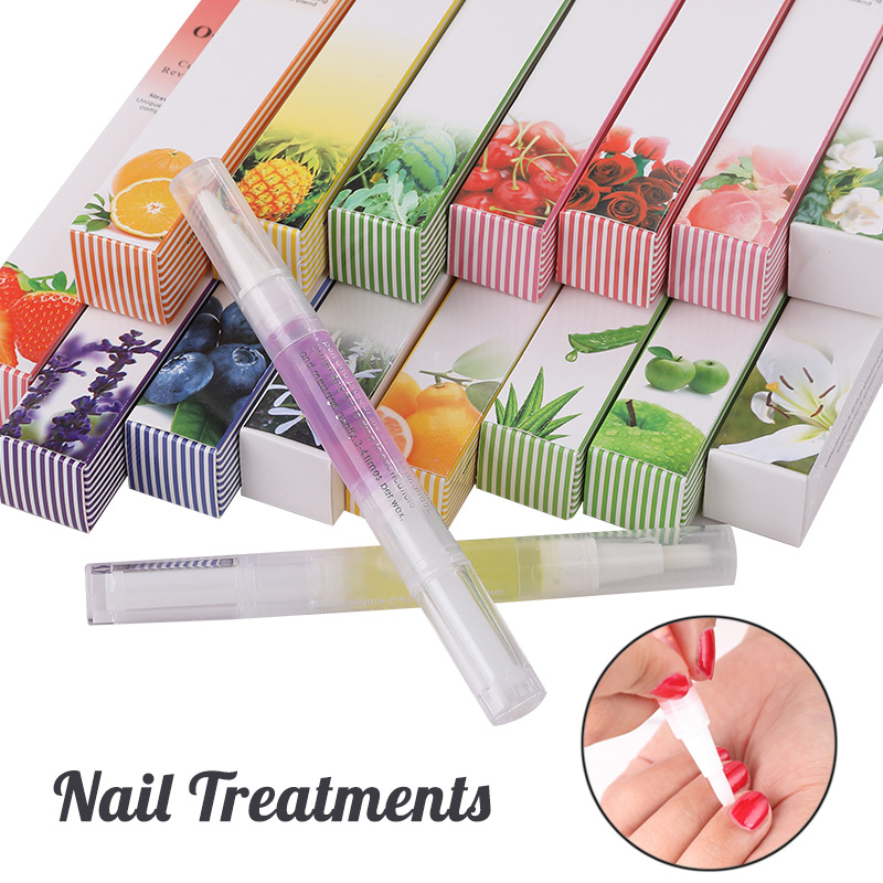 15 Styles Nail Nutrition Oil Pen Nails Treatment Cuticle Revitalizer Oil Prevent Agnail Nail Art Tools Manicure Care image