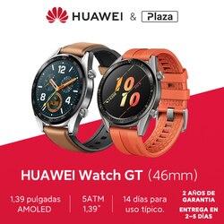 Versión global HUAWEI Watch GT Smart Watch 1.39 '' Pantalla AMOLED 14 días Batería 5ATM Impermeable Ritmo cardíaco Tracker