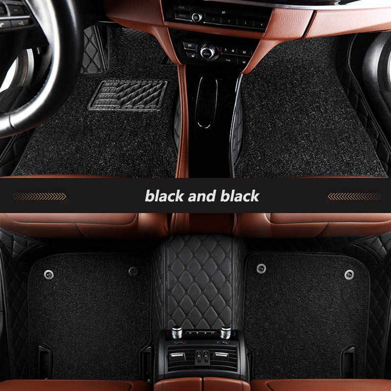 Kalaisike Custom Auto Vloermatten Voor Bmw Alle Modellen X3 X1 X4 X5 X6 Z4 F30 F10 F11 E70 E53 g30 E34 F25 F15 F34 E46 E90 E60 E84 E83