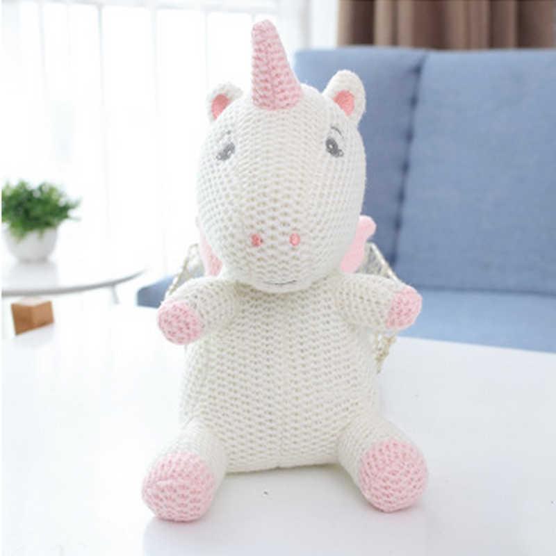 Imcute 2020 ของขวัญเด็กทารกแรกเกิดเด็กทารกการถ่ายภาพ PROP Photo Crochet ถักของเล่นน่ารักหมีน้อยถักตุ๊กตาสัตว์